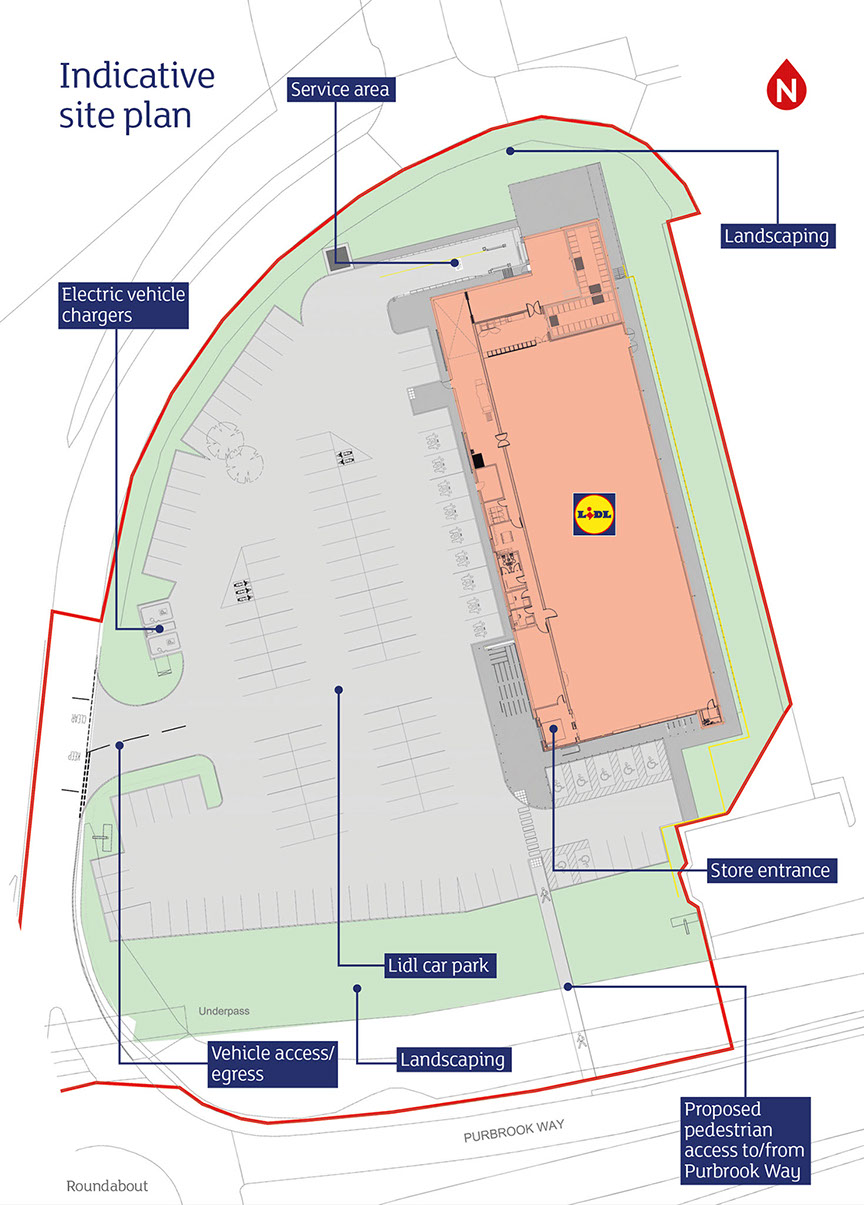 Havant site plan