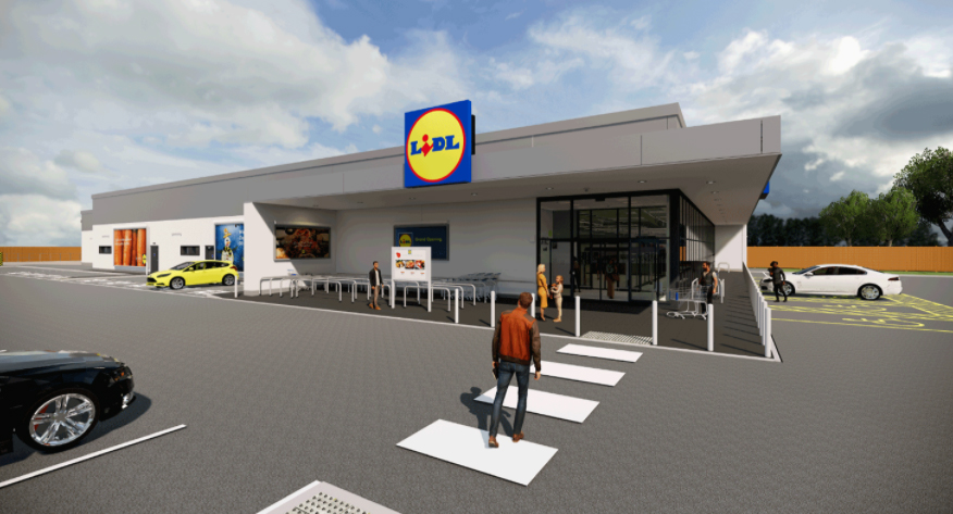 Visual of Lidl Store
